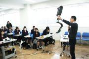 「こんにちは。先輩!」「お久しぶりです。先生」:浦和学院高校2年生