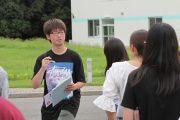 命を守る行動を!:蓮田キャンパスで避難訓練