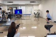『名医のTHE太鼓判!』に理学療法学専攻教員が撮影協力!