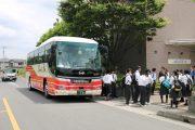 岩槻キャンパス: 高校バス見学(栃木県立足利清風高校)