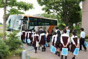 岩槻キャンパス: 高校バス見学(群馬県共愛学園高校)