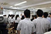 岩槻キャンパス: 高校バス見学(栃木県立小山城南高校)