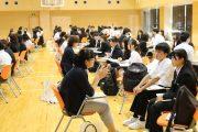 看護学科 「先輩と語ろう!」開催(7/17)